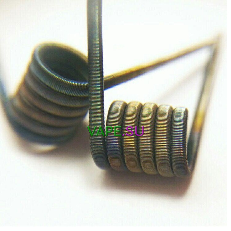 MTL Fused Clapton Coil 2шт