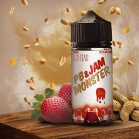 Jam Monster PB & Jam Strawberry 100ml