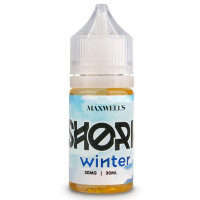 Maxwell's Shoria Winter Salt 30ml