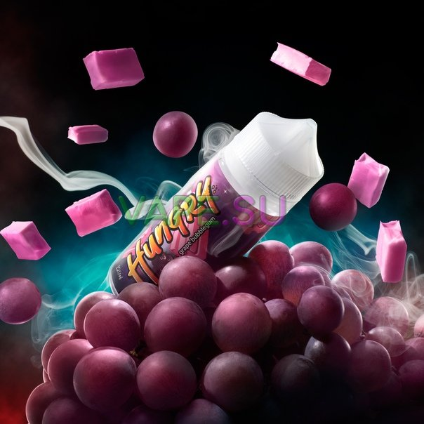 HUNGRY Grape Bubblegum 120ml